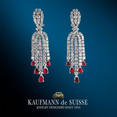 Kaufmann de Suisse Diamond Jeweler Designers Since Custom diamond rings, engagement rings, wedding rings, bracelets and fine jewelry necklaces. Palm Beach Florida, Diamond Rings, Diamond Jewelry, Gemstone Rings, Jewelry Showcases, Custom Jewelry Design, Dangle Earrings, Jewelery, Dangles