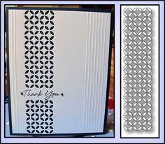 PIESTRA TILE die by MEMORY BOX 98157 All Occasion elegant border single die #MemoryBox