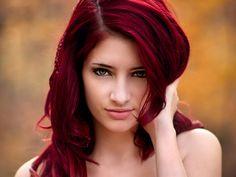 Cherry cola. My favorite hair color so far.