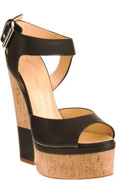 09273af17275 Giuseppe Zanotti Cutout Wedge Sandal Shoe Show