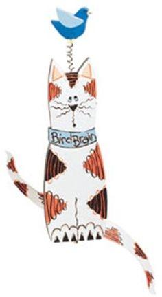 Cat Bird Whirligig Plan