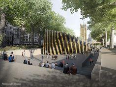 Image 2 of 71 from gallery of 10 Shortlisted Designs for London Holocaust Memorial Revealed. Adjaye Associates (UK) with designer Ron Arad Associates. Image © Adjaye Associates & Malcolm Reading Consultants