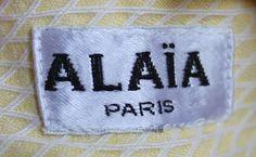 1980's AZZEDINE ALAIA cotton pique dress with cut out image 4