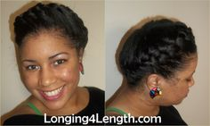 protective hairstyles for black women | Protective Hairstyles For Short Relaxed Hair - www.birthrightearth.org