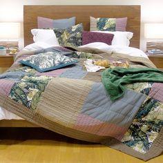 Nova Coleção Green Artisan | A Loja do Gato Preto | #alojadogatopreto | #shoponline Comforters, Shabby Chic, Artisan, Blanket, Bed, Green, Design, Furniture, Home Decor