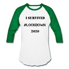 Some social awareness campaign t-shirts. Show your support for social distancing, physical distancing and lockdown. Available through the Spreadshirt store link in the bio. Awareness Campaign, Social Awareness, I Survived, Store, Link, Long Sleeve, Sweaters, Mens Tops, T Shirt