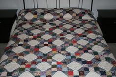 Snowball Multi-Color Amish Quilt For Sale