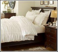 Love white bedding