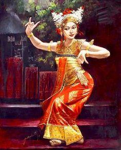 ~ Josephine Linggar: balinese-dancers