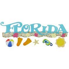 Jolee's Boutique Florida Title Wave 3-D Sticker Embellishments | Shop Hobby Lobby
