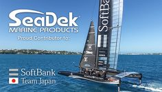 SeaDek Provides Innovative Decking Products to SoftBank Team Japan's Challenge for the America's Cup - SeaDek Marine Products Blog