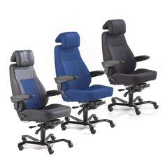 Krzesła biurowe dostępne są z podłokietnikami i różnymi opcjami podstawy jak nogi pająka, polerowane aluminium i lustrzane. Krzesła te są wyposażone w zagłówek oraz podparcie odcinka lędźwiowego, idealne dla osób z problemami z kręgosłupem.  http://www.ajprodukty.pl/meble-biurowe/krzesla-biurowe/6205400.wf
