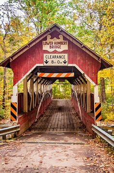 The Lower Humbert Covered Bridge, or the Faidley Covered Bridge, is an 126-foot Burr Arch truss covered bridge that crosses Laurel Hill Creek, in Lower Turkeyfoot Township, Somerset County in Pennsylvania. It was built in 1891 and rebuilt in 1991