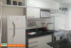 Apartamento decorado 2 quartos do Spazio Andrier no bairro Zona Norte - Natal - RN - MRV Engenharia