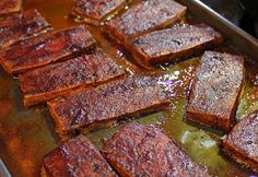 A Virtual Essence: Oven Barbecued Tofu