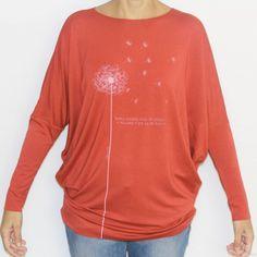 camiseta diente de leon naranja - Calendula