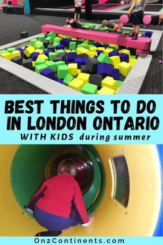 Discover the top fun summer activities for families in London, Ontario. #ldn #ldngem #londonON #ldnont #londonontario #canada #on2continents #travelblog #thingstodowithkids #ontario #summer #funactivities Outdoor Summer Activities, Fun Activities, Playroom Design, Kid Playroom, Kids Room, Storybook Gardens, Adventure Farm, Trampoline Park, Things To Do In London