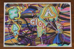 """My """"Globalization and Me"""" artwork was created with paper, marker, pencil, pen, digital camera, and iMovie. I used all these tools to create a drawing, and a short animated movie. The work shows..."""