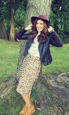 wandering bella | t r a v e l / / l i f e s t y l e / / f a s h i o n . Fall fashion/ floppy hat + leopard + leather