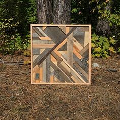 Beautiful Wood Wall Art is a part of our furniture design inspiration series. Furniture Inspiration series is a weekly showcase of incredible designs Scrap Wood Projects, Cool Woodworking Projects, Woodworking Furniture, Pallet Projects, Woodworking Shop, Reclaimed Wood Wall Art, Wooden Wall Art, Weathered Wood, Wood Pallets