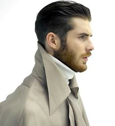 dig this slick-back look.