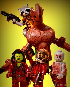 Guardians of the Galaxy Legos