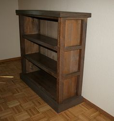 Vintage Reclaimed Rustic Barnwood Bookcase Book Shelf The Old Repurposed And