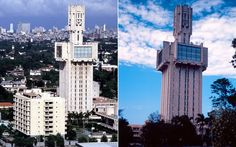 The Russian embassy in Havana, Cuba. Designed by Alexander G Rochegov, and opened in 1985.