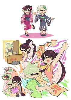 Part 1: Nintendo. STOP TEARING PEOPLE APART. Midna and Link, NOW CALLIE and Marie!! NO!