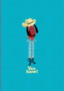 Roger la Borde | Odd Dog Out Petite Card by Rob Biddulph