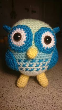 Amugurumi Crochet Owl