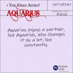 Aquarius 7850: Check out The Daily Astro for facts about Aquarius.