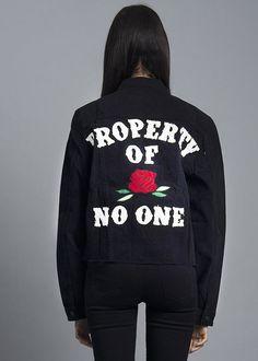 Property of No One Jacket