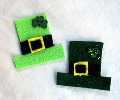 Preschool Crafts for Kids*: St. Patrick's Day Leprechaun Hat Craft