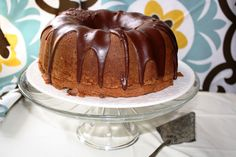 Time for Good Food: Chocolate Pound Cake