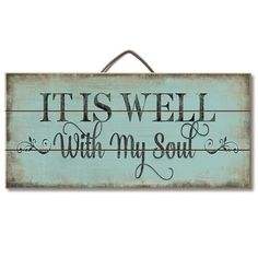 Ideas Pallet It Is Well With My Soul Wood Slatted Sign - Description It Is Well With My Soul Hanging Wood Sign x x Wood Slat Sign with Metal Hanger Perfect for an inspiration! Proudly Made in America Wood Pallet Signs, Diy Wood Signs, Wall Signs, Vintage Wood Signs, Primitive Wood Signs, Rustic Wood Signs, Wooden Signs For Home, Reclaimed Wood Projects Signs, Homemade Wood Signs