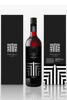 Point Wells Winery Branding and Packaging by Alex Townsend