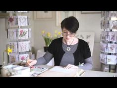 Billy Showell: A selection of Techniques for Water Colour Painting - YouTube