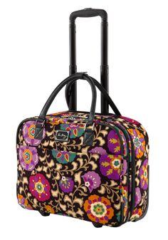 Vera Bradley Roll Along Work Bag in Suzani-Vera Bradley acc65fb4bd6d5