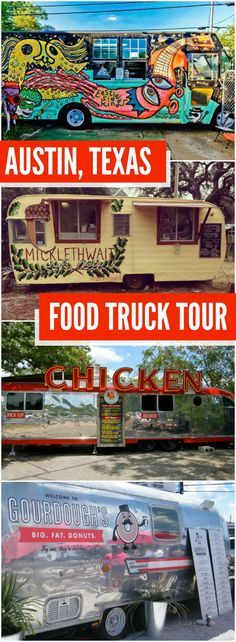 A DIY Austin Food Truck Tour featuring 6 of Austin's best trailer eateries plus an easy-to-follow map and directions.