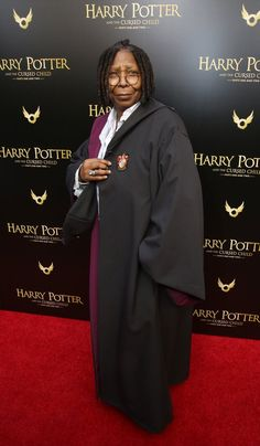 702fb4f4037 Please Enjoy Whoopi Goldberg Attending Harry Potter and the Cursed Child in  Full Costume