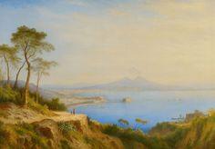 Carl Morgenstern, Ansicht von Neapel, Auktion 1097 Alte Kunst, Lot 2557