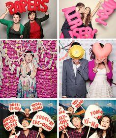 PhotoBooth Ideas: Cosas para que enrede la gente. Wedding Photo Booth, Wedding Photos, Diy Wedding, Dream Wedding, Wedding Things, Wedding Ideas, Photo Booth Backdrop, Photobooth Layout, Diy Photobooth