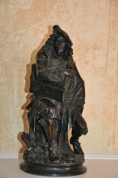Albert E. Carrier Belleuse Bronze of Rembrandt