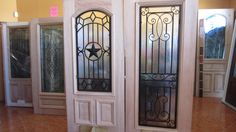 7 best IRON GRILL MAHOGANY WOOD DOORS images on Pinterest | Entrance ...