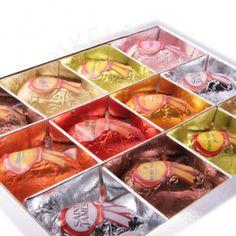 Likeurbonbons. pure bonbons met heerlijke likeur aan de binnenkant.