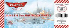 ult for disney planes invitations Disney Planes Party, Disney Planes Birthday, Birthday Fun, 1st Birthday Parties, Birthday Ideas, Knight Party, Airplane Party, Monster Party, Party Time