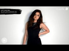 See what mark. Brand Ambassador Lucy Hale has to say in this beauty & fashion Q!  www.meetmark.com