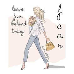 Leave fear behind today... leave the what if's behind and get out there one step at a time! #heatherstillufsen