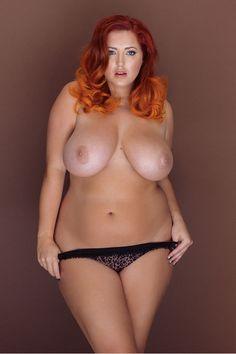 Nude naked woman cross